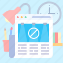 adblock, adblocker, advertise, website icon