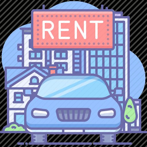 Car, rent, transport icon - Download on Iconfinder