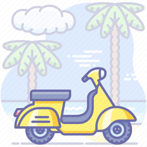 Motorbike, motorcycle, scooter icon - Download on Iconfinder