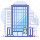 about, company, office, skyscraper icon