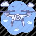 air, camera, drone icon