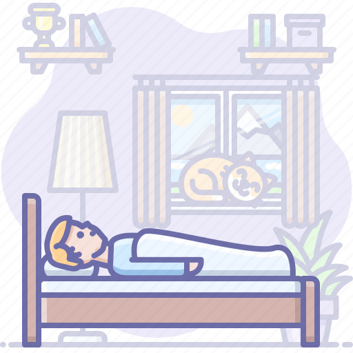 Bed, hotel, room, sleep icon - Download on Iconfinder