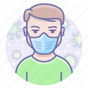 face, mask, medical, protection, virus