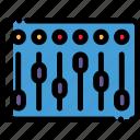 instrument, mixer, music, speaker icon