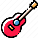 guitar, music, player, song icon