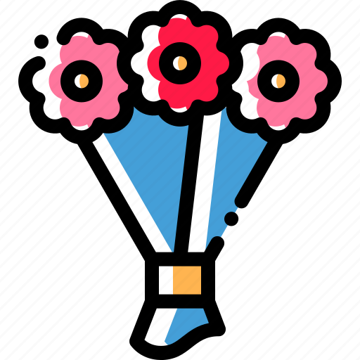 blossom, bouquet, floral, flower icon