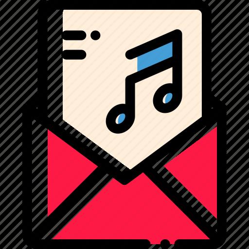 invitation, letter, message, send icon