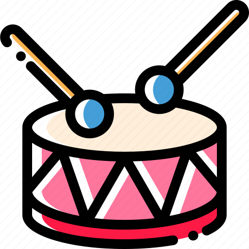 drum, music, play, sound icon