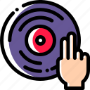 audio, dj, play, sound icon