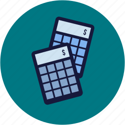 accounting, calculation, calculator, commerce, ecommerce icon