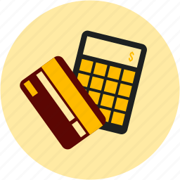 accounting, calculate, calculator, credit, credit card, ecommerce, payment icon