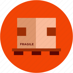 package, packed, shipping icon