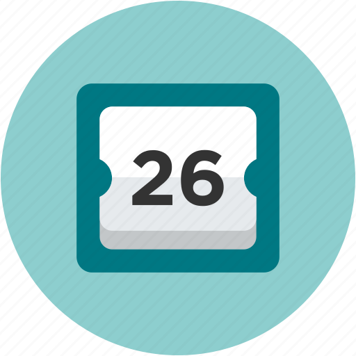 calendar, date, day, ecommerce icon