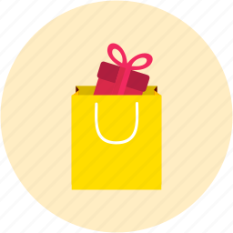 bag, gifts, shopping icon