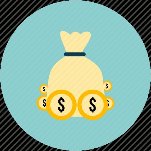 dollars, ecommerce, money icon