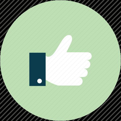 good, like, thumb up icon