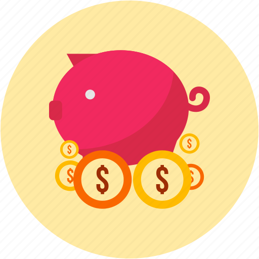 guardar, money, pig, piggy, safe, save icon