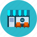merchant, seller, shop, store icon
