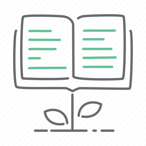 book, education, grow, knowledge, learning, study icon