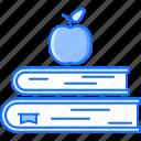 apple, book, college, learning, school, university