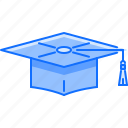 cap, college, graduate, learning, school, student, university