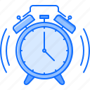 alarm, clock, college, learning, school, university icon