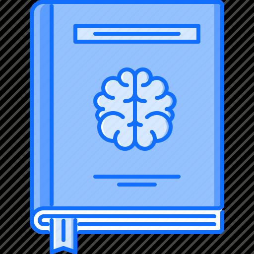 book, brain, college, learning, school, smart, university icon