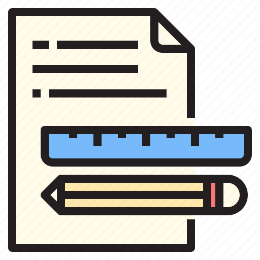 dcoument, education, equipment, knowledge, technology, tools icon