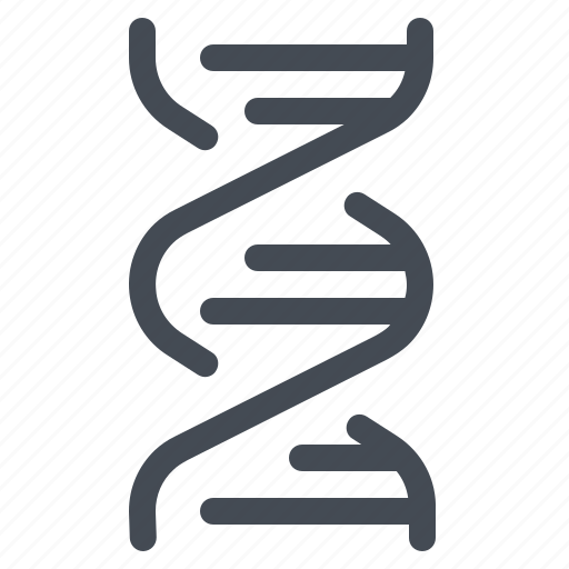 dna, education, genetic, laboratory, school, science, spiral icon
