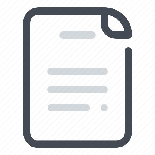 document, education, learn, paper, school, sheet, study icon