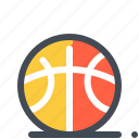 ball, basket, education, learn, school, sport, study icon