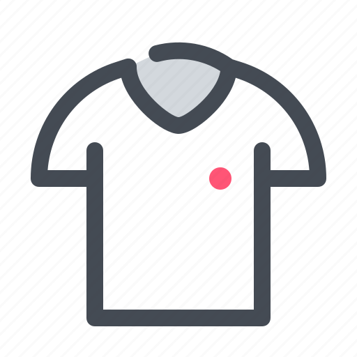 clothes, education, school, shirt, t, uniform icon