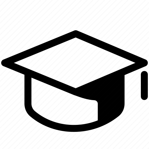 Education, graduate, hat, learn, mortarboard, school, study icon - Download on Iconfinder