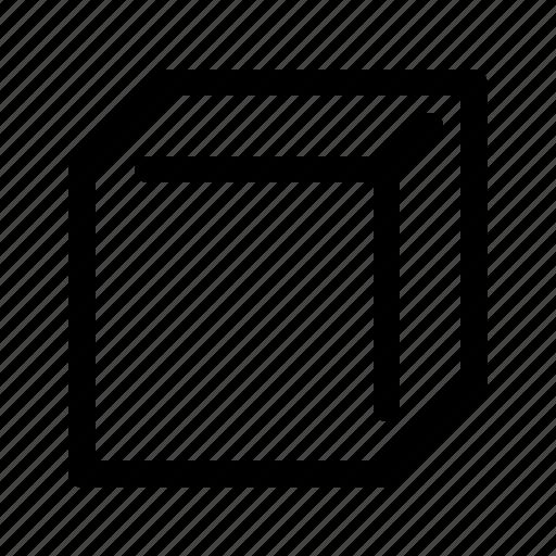 cube, education, geometry, learn, school, study icon
