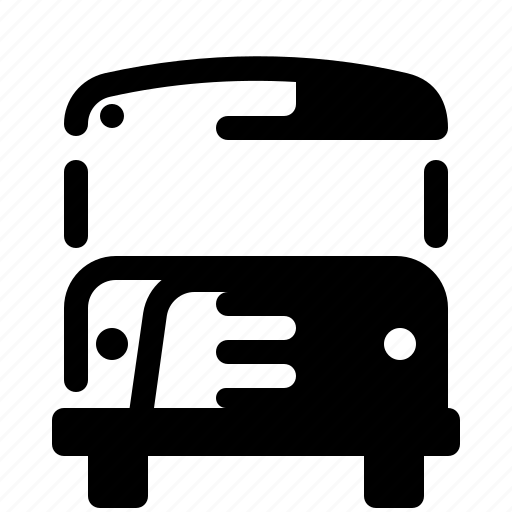 bus, education, school, school bus, schoolchildren, vehicle icon