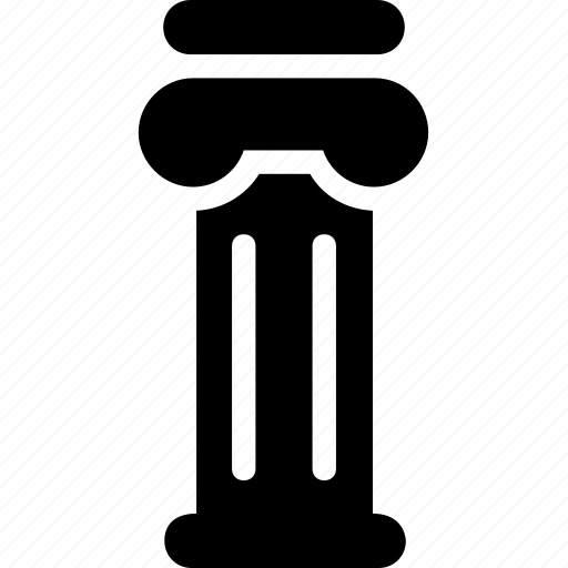 architecture, columns, greek, history, pillar icon