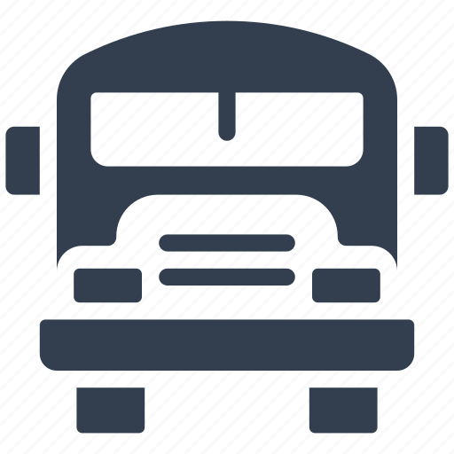 auto, automobile, school bus, transportation, vehicle icon