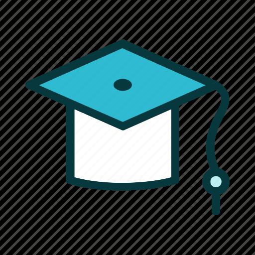 college, education, graduation, learning, school, student, university icon