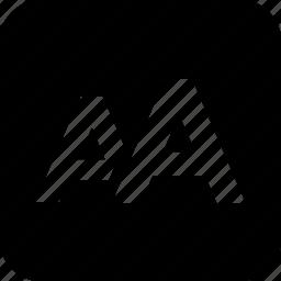 a, alphabet, english, font, letter icon