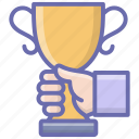 award trophy, chalice, champion trophy, trophy, winner cup icon
