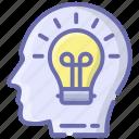 brainstorming, cognition, creativity, idea, imagination icon