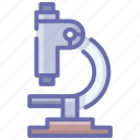 inspection tool, light microscope, medical equipment, microscope, optical microscope icon
