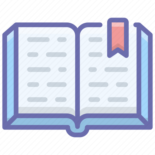 book, bookmark, education, guide, notebook icon