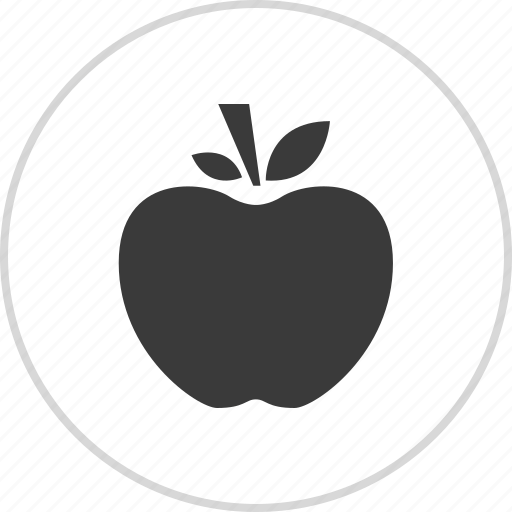 apple, fruit, staff, teach icon