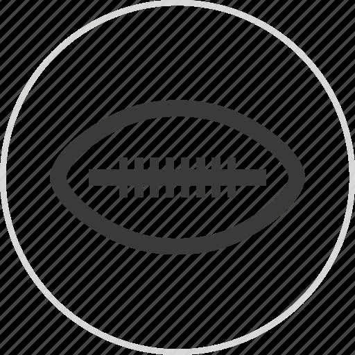 athletics, ball, football, sports icon