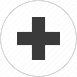 ambulance, cross, health, sign icon