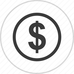 dollar, money, pay, sign icon