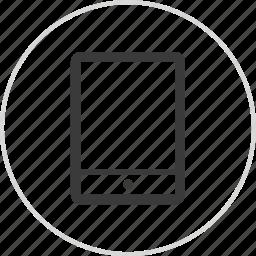 digital, electronic, ipad, pad icon