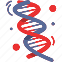 biology, dna, double helix, genetic, medical, science icon