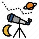 education, star, astronomy, telescope, planet, moon